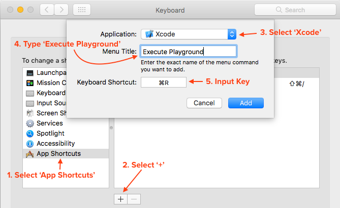 Add app shortcut