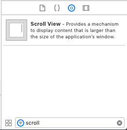 Scroll View Element