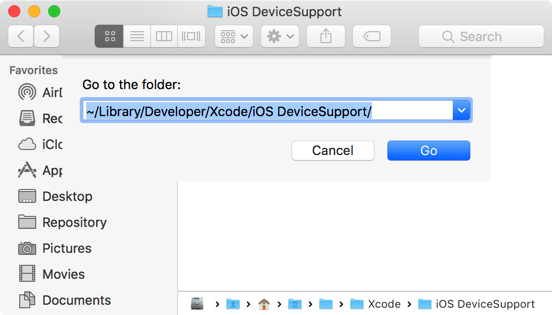 Free up storage space of your Mac for iOS development