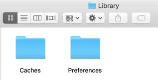 Library folders