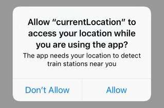 location permission