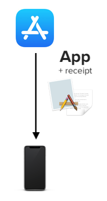 app bundle with receipt