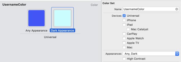 color asset