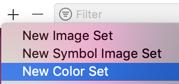 new color set